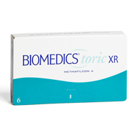 nákup kontaktních čoček BioMedics Toric XR