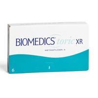 nákup kontaktných šošoviek BioMedics Toric XR