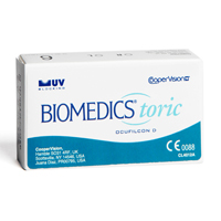 kupno soczewek kontaktowych BioMedics Toric