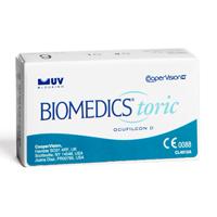 nákup kontaktních čoček BioMedics Toric