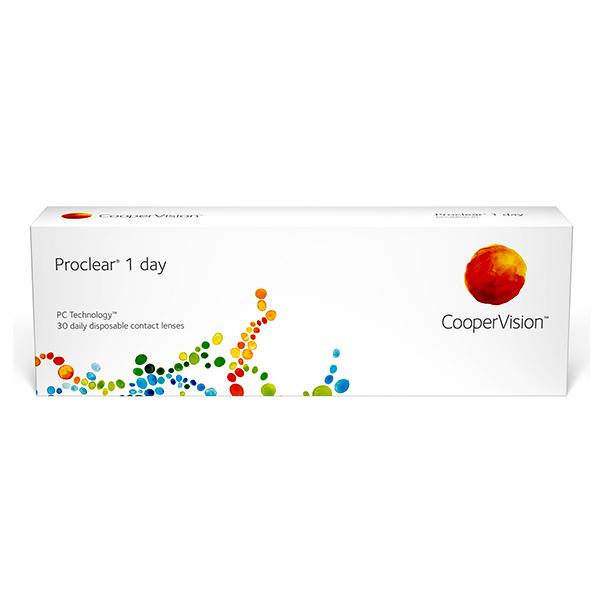 nákup kontaktných šošoviek Proclear 1 Day 30