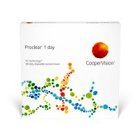 nákup kontaktných šošoviek Proclear 1 Day 90