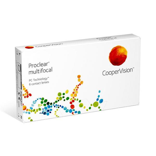 čočky Proclear Multifocal (6)