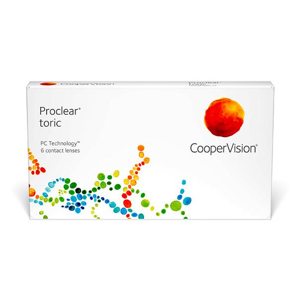 nákup kontaktných šošoviek Proclear Toric