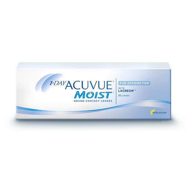 nákup kontaktných šošoviek 1 Day Acuvue Moist for Astigmatism 30