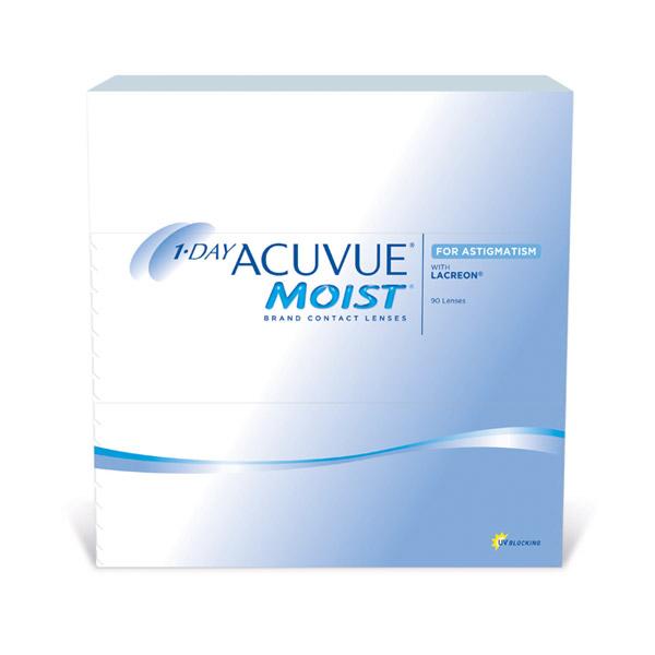čočky 1 Day Acuvue Moist for Astigmatism 90