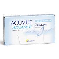 Lentilles de contact Acuvue Advance for Astigmatism
