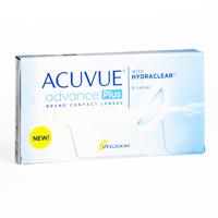 nákup kontaktných šošoviek Acuvue Advance Plus with Hydraclear