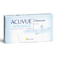 achat lentilles Acuvue Advance with Hydraclear