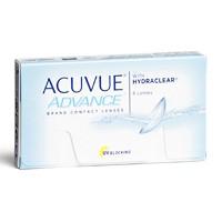 Kontaktné šošovky Acuvue Advance with Hydraclear