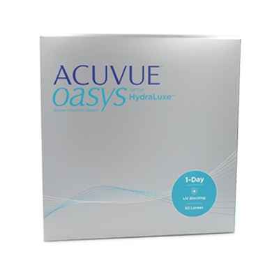 Lentilles de contact Acuvue Oasys 1 day 90