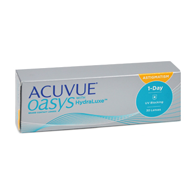 čočky Acuvue Oasys 1 Day For Astigmatism 30