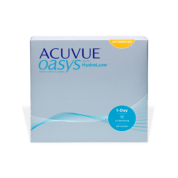 čočky Acuvue Oasys 1 Day For Astigmatism 90