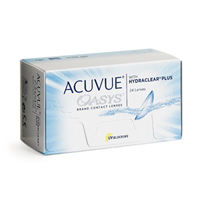 achat lentilles Acuvue Oasys 12 with Hydraclear Plus