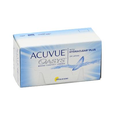 čočky Acuvue Oasys 24 with Hydraclear Plus