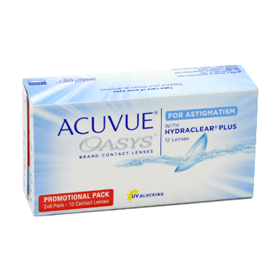 Acuvue Oasys for Astigmatism with Hydraclear Plus  Pflegemittel