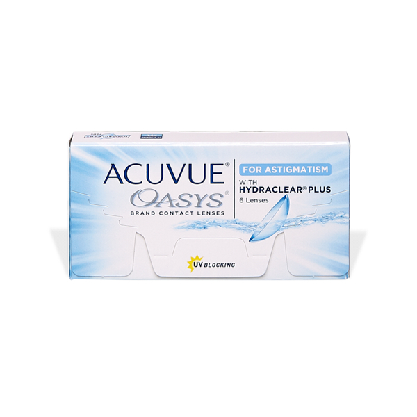 čočky Acuvue Oasys for Astigmatism with Hydraclear Plus (6)