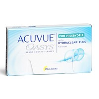 Lentilles de contact Acuvue Oasys for Presbyopia with Hydraclear Plus