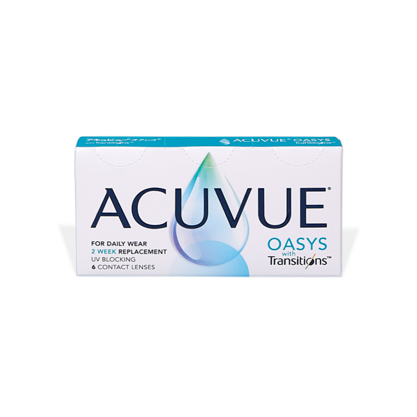 čočky Acuvue Oasys with Transitions