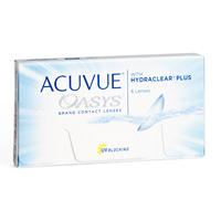 Kontaktlencsék Acuvue Oasys with Hydraclear Plus