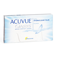 Acuvue Oasys with Hydraclear Plus lenzen
