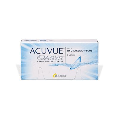 producto de mantenimiento Acuvue Oasys with Hydraclear Plus