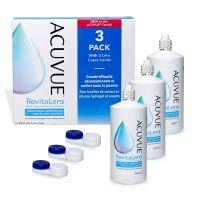 kontaktlencse tisztító vásárlás Acuvue RevitaLens 3x360ml