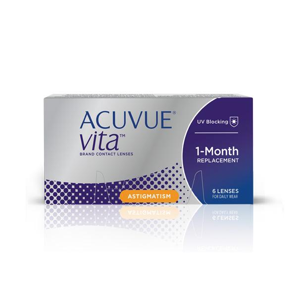čočky Acuvue VITA ™ for Astigmatism