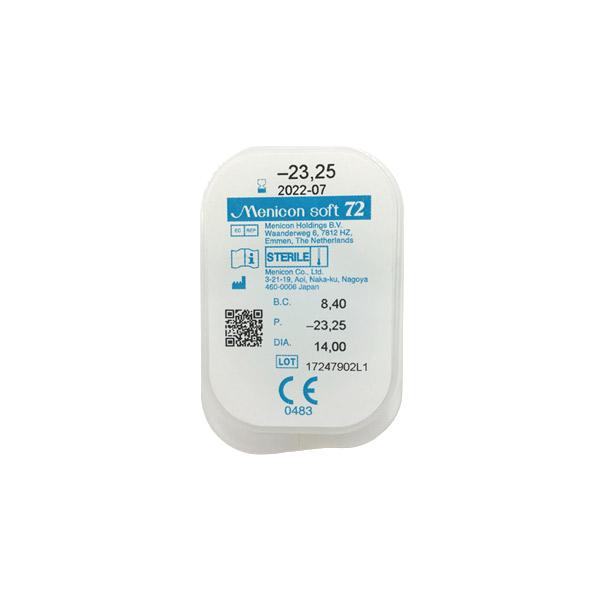 nákup kontaktných šošoviek Menicon Soft 72
