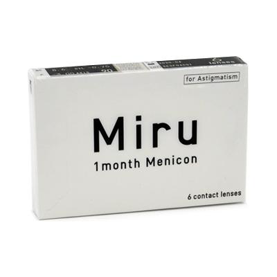 Miru 1 month for Astigmatism