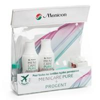 nákup roztoků Travel Kit Menicare Pure & Progent
