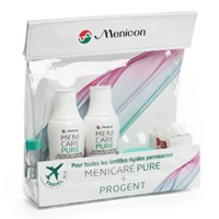 kontaktlencse tisztító vásárlás Travel Kit Menicare Pure & Progent