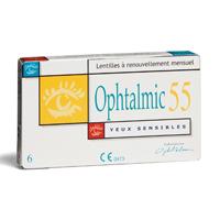 achat lentilles Ophtalmic 55