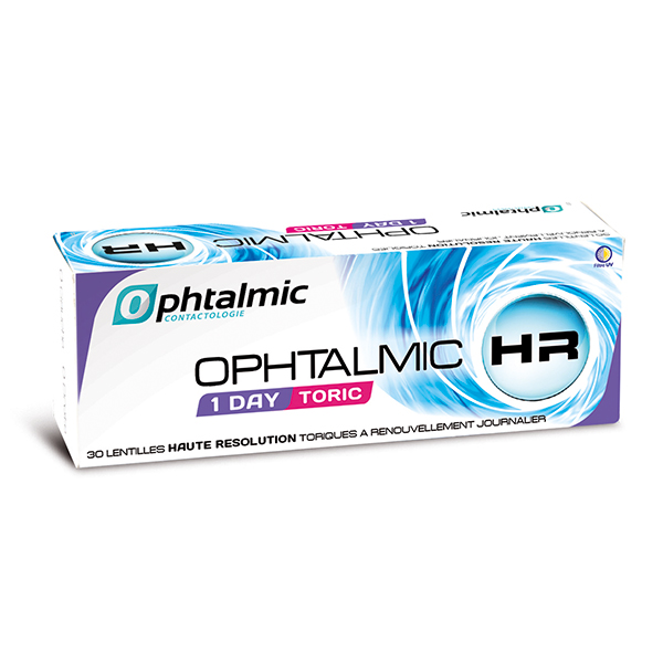 achat lentilles Ophtalmic HR 1 Day Toric 30